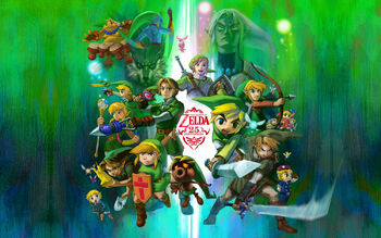 Atrwork Zelda 25 aniversario