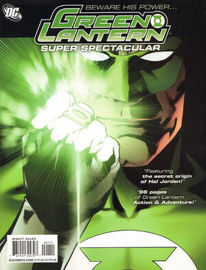 Cover for Green Lantern Super Spectacular #1