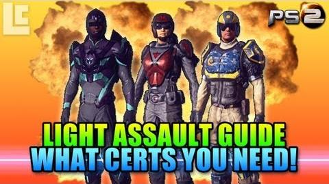 Light Assault Certification Guide (Planetside 2 Gameplay Commentary)