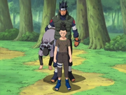 Asuma rescues Shikamaru