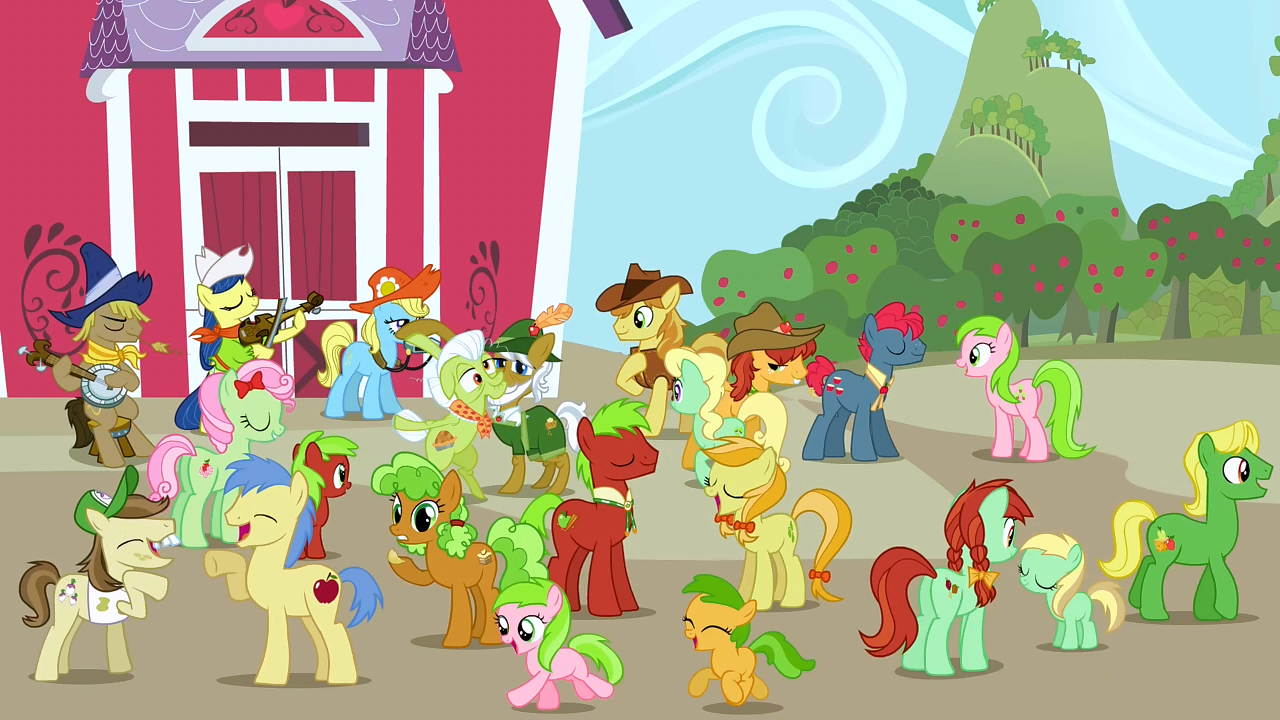 Apple Family My Little Pony Friendship Is Magic Wiki