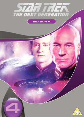 TNG Season 4 DVD-Region 2 new