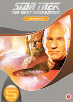 TNG Season 5 DVD-Region 2 new
