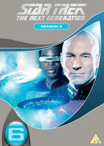 TNG Season 6 DVD-Region 2 new