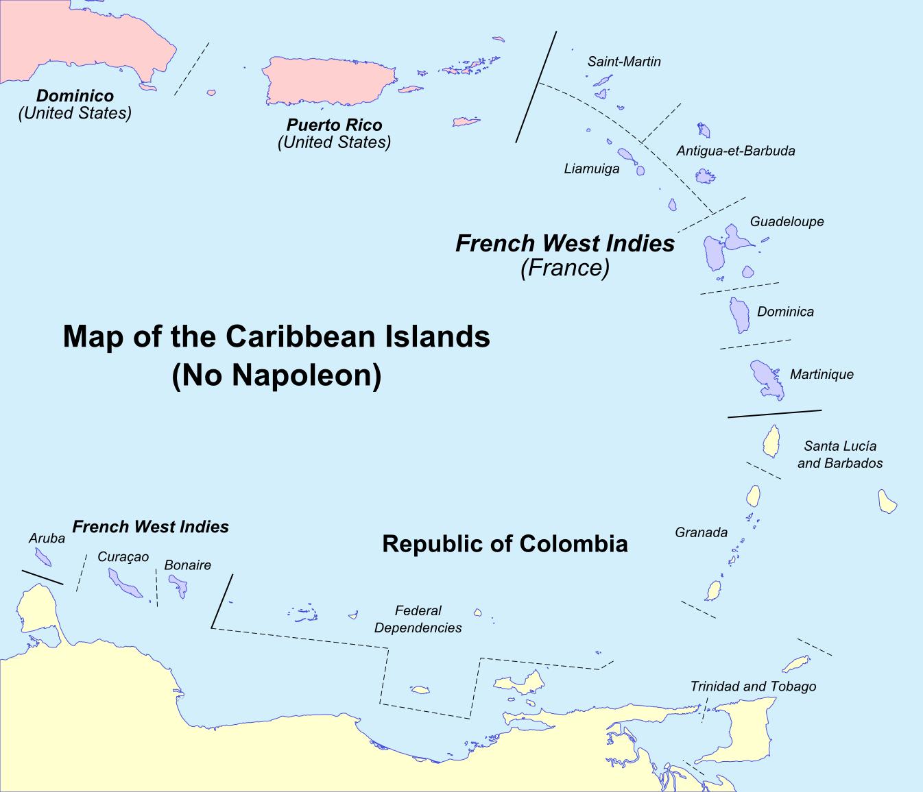 Caribbean: Alternative History