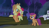 Scootaloo &#39;time for bed yet, is it?&#39; S3E06