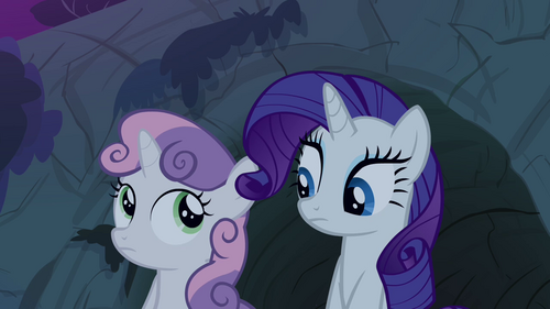 My little pony rarity and sweetie belle - photo#18