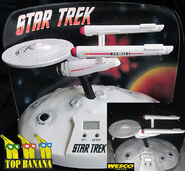 Top Banana vs Wesco USS Enterprise Talking Alarm Clock