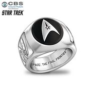 Bradford Exchange Star Trek ring