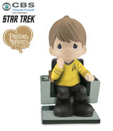 Bradford Exchange Star Trek Precious Moments figure