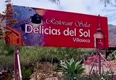 Delicias del Sol signage, 12-29-12