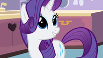 Rarity Applejack saved Spike S3E9