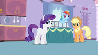 Rarity &amp; Rainbow Dash what was that S3E9