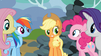 Applejack &quot;everybody get it?&quot; S03E09
