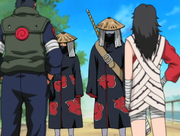 Kurenai and Asuma stop Akatsuki