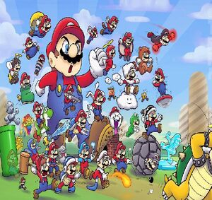 You'll never defeat mario