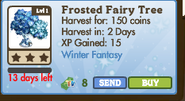 Frosted Fairy Tree Market Info (January 2012)