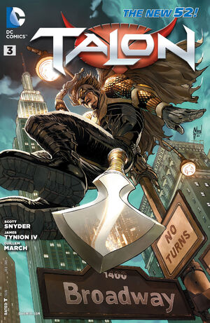 Cover for Talon #3