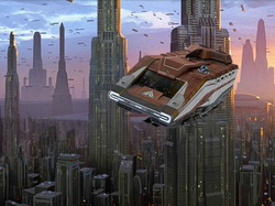 StarSpeeder1000 Coruscant