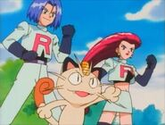 Team Rocket trio