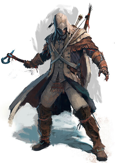 Native Assassin Connor concept