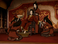 Azula&#39;s servants