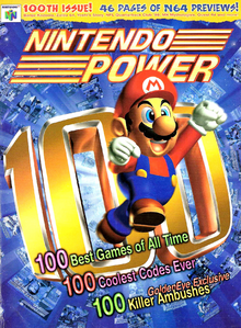 Nintendo Power V100 (Cover)