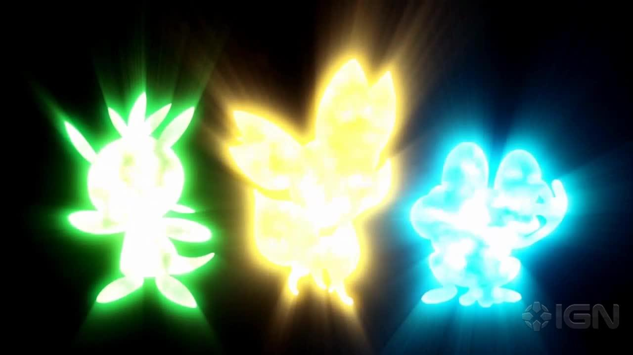 Pokemon X and Y Announcement Trailer