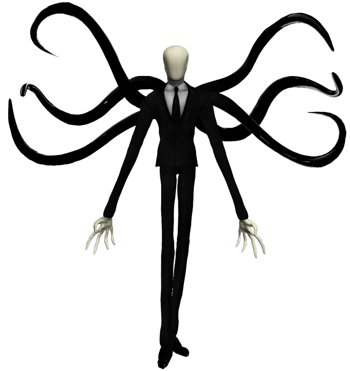 slender man voiced by n a franchise slender appears in playstation all