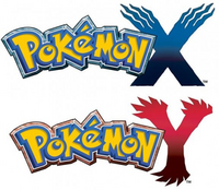 Pokmon X and Pokmon Y Logo&#39;s