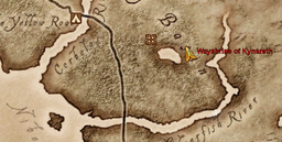 Wayshrine of Kynareth Maplocation