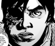 Issue 106 Carl Threatens Negan