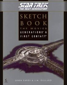 Star Trek The Next Generation Sketchbook The Movies