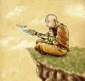 Aang and Tenzin