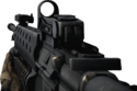 BFBC2 M16A2 Red Dot Sight