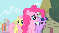 Pinkie Pie what are talking S1E22