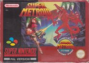 Super Metroid PAL boxart