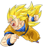 Render de Goku Ssj3