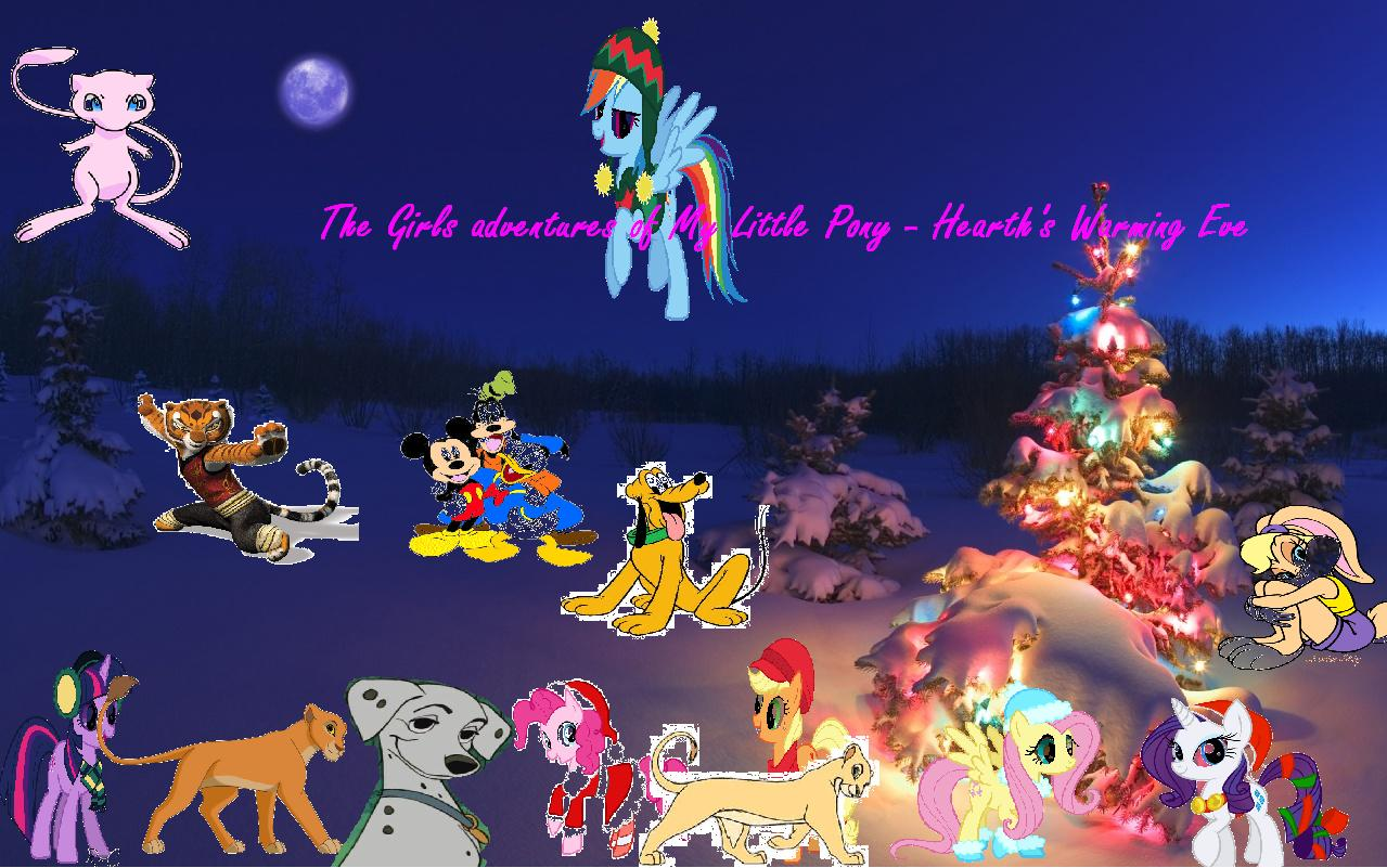 The Girls adventures of My Little Pony Friendship Is Magic - Hearth's