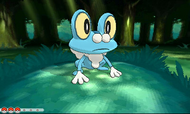 Froakie en combate