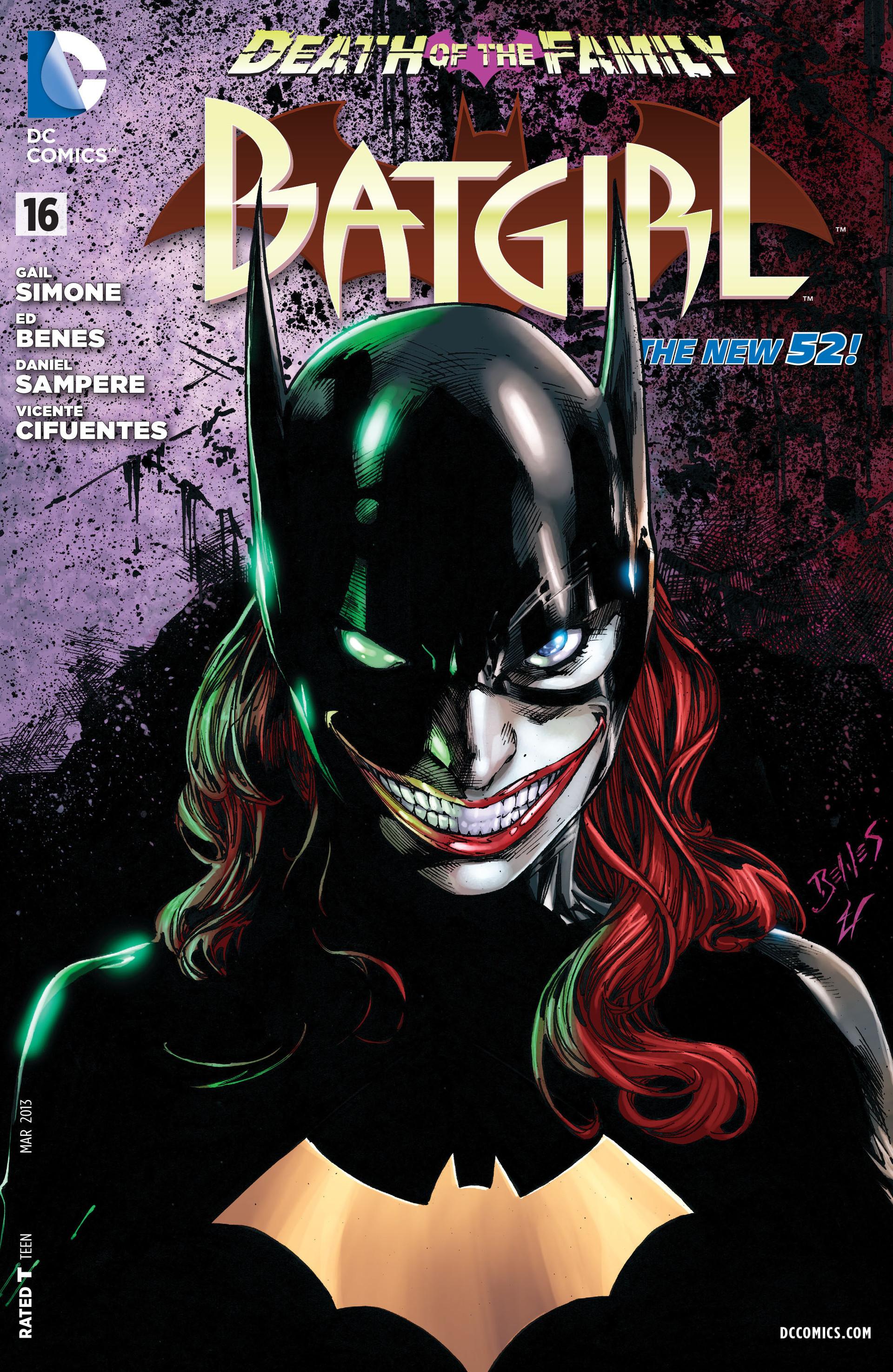 Batgirl Vol 4 16 - DC Comics Database