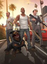Fan aArt GTA V