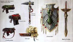Dark Angels Weapons