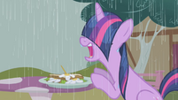 Rain drenching Twilight S1E3