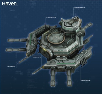 how to set up anno 2205 space port