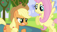 Applejack angry S03E10