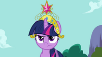 Twilight wearing Element of Magic S03E10