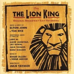 Lionking BroadwayCast