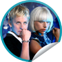 GetGlue Stickers - Lady Gaga on Ellen on 4.28.09