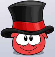 Top Hat Puffle Item